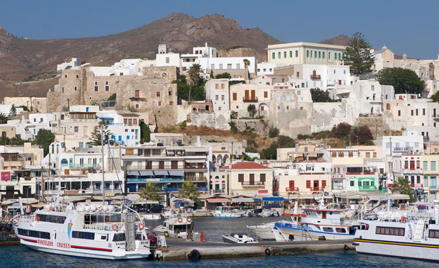 how to get to naxos from athens